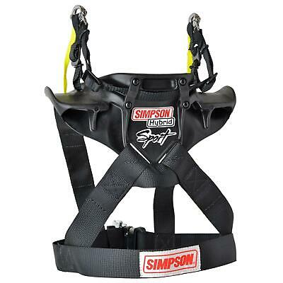 Simpson HS.SML.11 Hybrid Sport Head and Neck Restraints, Small