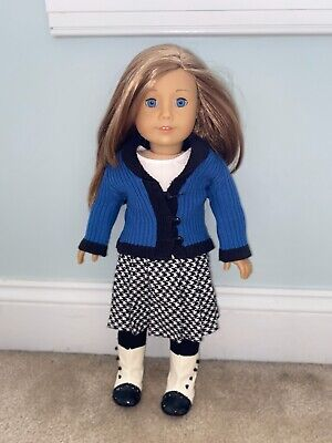 American Girl Doll Retired Rebecca School Outfit - Used