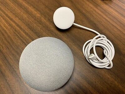 Google Home Mini Smart Assistant - Chalk - New W/O Box