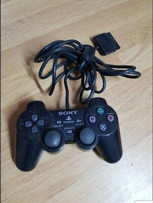 PS1 Sony Playstation Official Black Controller *Untested* Analog