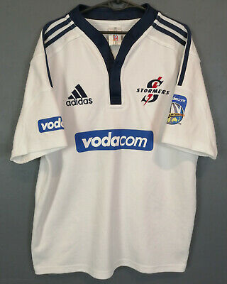 VINTAGE MAILLOT RUGBY STORMERS ADIDAS Super 12 taille L