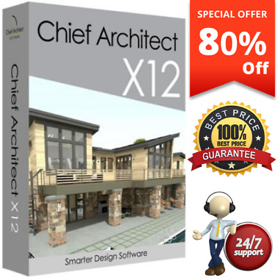 Chief Architect Premier X12 ✅ Full Version ✅ LifeTime Windows ✅ 30 Sec Delivery