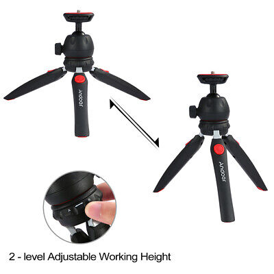 Andoer Mini Tabletop Tripod +Ball Head Portable For Camera Mounting Screw M8F9