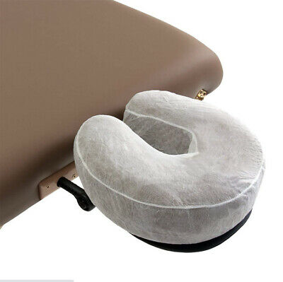 Disposable Massage Table Head Rest Cradle Cushion Covers Hygienic Washable 8Bags