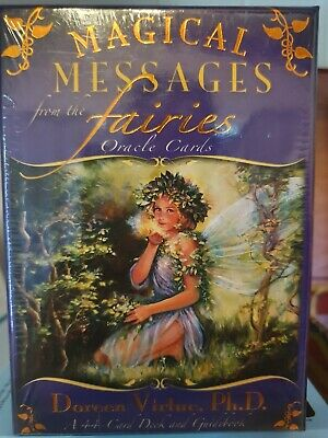 """""""Magical Messages From The Fairies"""" By Doreen Virtue (44 Oracle Cards)"""