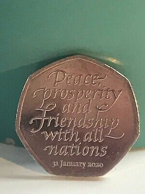 Brexit 50p 2020 Coin - Collectors Coinage