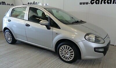 2010 Fiat Punto 1.4 EVO Active Silver 72k miles History 5d Air-Con CD HPi Clear