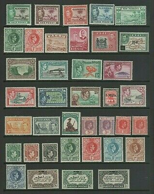 GVI Commonwealth Mint MH Small Collection, Various (3)