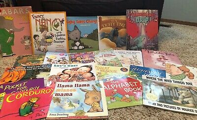 Story Time Lot of 21 StoryBooks for Children Toddlers Daycare Popular Assorted
