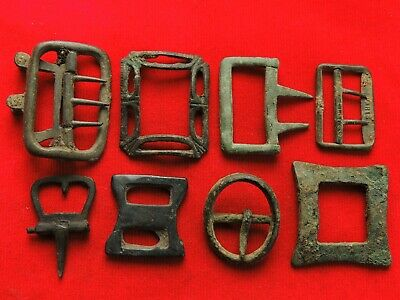 Ancient bronze buckles  Vikings and  Middle Ages