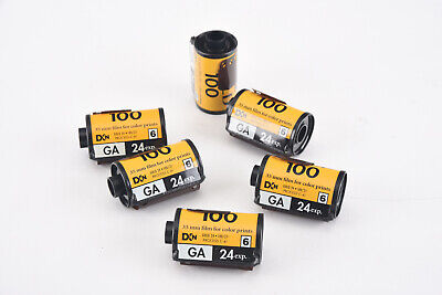 Kodak Gold GA ISO 100 35mm Film for Color Prints 24 Exposure 6 Rolls EXPIRED V90