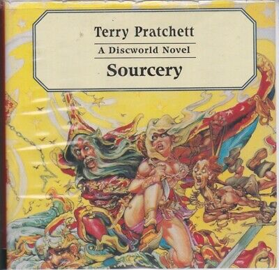 SOURCERY (DISCWORLD) by TERRY PRATCHETT~UNABRIDGED CD'S AUDIOBOOK