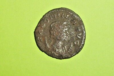 Salonina 253 AD-268 AD ancient ROMAN COIN wife of Gallienus Pudicitia moon good