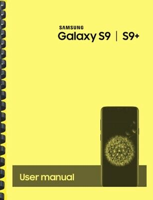 Samsung Galaxy S9 S9+ T-Mobile OWNER'S USER MANUAL