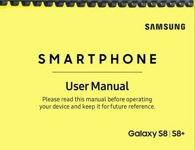 Samsung Galaxy S8 S8+ AT&T OWNER'S USER MANUAL
