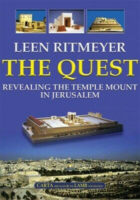 Quest : Revealing the Temple Mount in Jerusalem, Hardcover by Ritmeyer, Leen,...