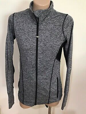 Women's *~*LORNA JANE  UNIQULEY*~* Grey  Zip  Jumper  Size  XS