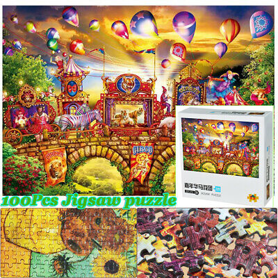 UK Puzzle Large Wooden Jigsaw Decompression Game Adult Kids Toy Gifts 1000 Piece
