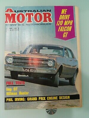 Australian Motor Sports Magazine June 1967 We Drive The Ford Falcon Xr Gt