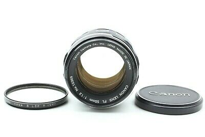 【Almost Mint】 Canon FL 55mm f/1.2 MF Prime Lens w/ Filter from JAPAN #074