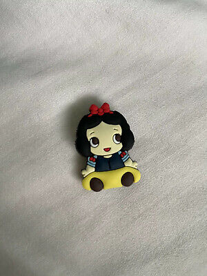 Crocs Jitbit Shoe Charm Snow White Disney Princesses Character