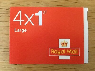 NEW ROYAL MAIL STAMPS - 4 First 1st Class Self Adhesive Large Letter Stamps