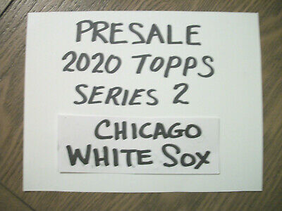 Chicago White Sox - 2020 Topps Series 2 Team Set (Luis Robert Rookie Card)