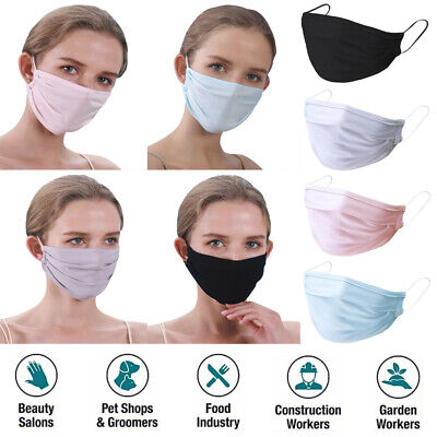4/6/10/20/50Pc Reusable Breathable Anti Haze Anti-Dust Mouth Nose Face Cover Lot