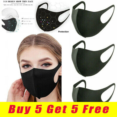 Reusable PM 2.5 Face Mouth &Nose Face Protection Anti Dust Pollution Product Kit