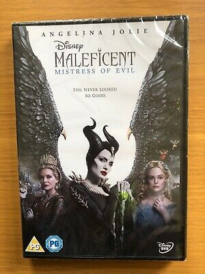 Maleficent: Mistress of Evil [DVD] New And Sealed