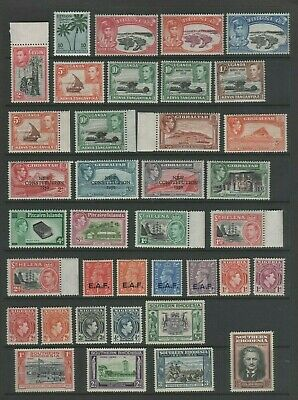 GVI Commonwealth Mint MH Small Collection, Various (4)