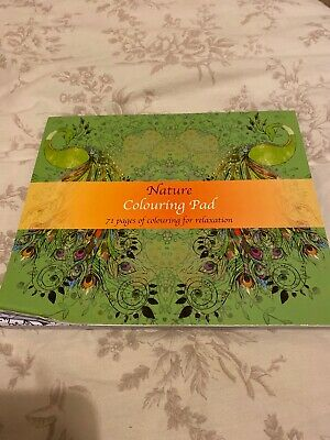 nature colouring book For Relaxation/mindfulness