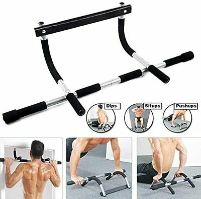 Doorway Mounted Chin Up, Pull Up Bar, Quarantine/Social Distance Workout Station