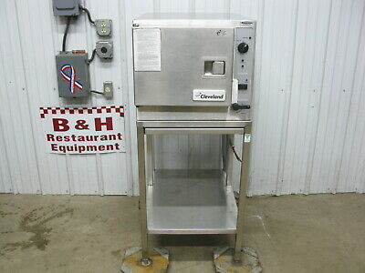 Cleveland Steam Chef 3 Pan Electric Convection Steamer Oven Boilerless 22CET3.1