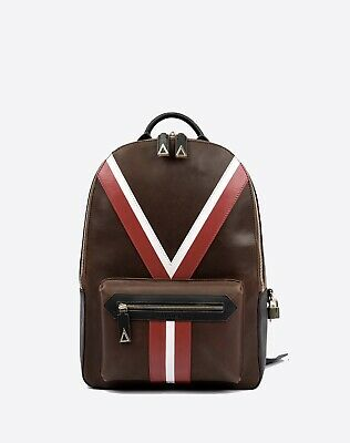 Valore London Full Leather 'Y' Backpack Luxury bag made in italy berluti £795