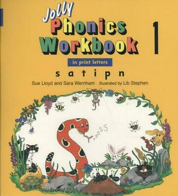 Jolly Phonics Workbooks 1-7 by Sue Lloyd (English) Paperback Book Free Shipping!