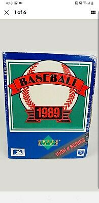 New1989 Upper Deck Baseball Cards High Number Series Box Factory Sealed 701-800