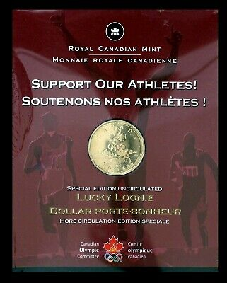 Canada 2004 First Day Strike Lucky Loonie in Original RCM Packaging!!