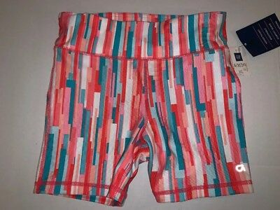 NWT Gap Fit Girls Size XL 12 Exercise Shorts Pink Striped