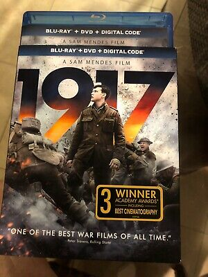 1917 (Blu-ray & DVD W/slipcover Never Used Only Opened For Digital Code