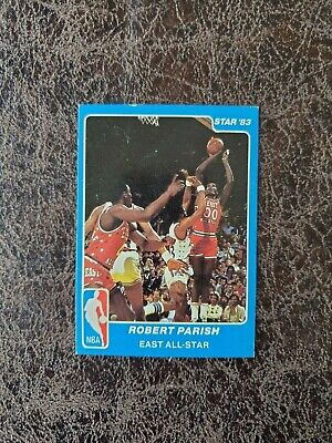 1983-84 STAR BASKETBALL Robert Parish All-Star #9 - Boston Celtics Legend