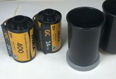 2 Rolls of Kodak Gold 35mm Color Print Film 400 Expired 24 Exp. Expired