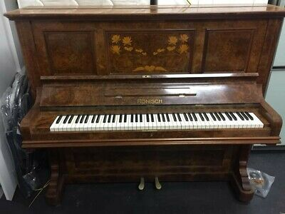 1900-1908 Ronisch 3 Crown Piano