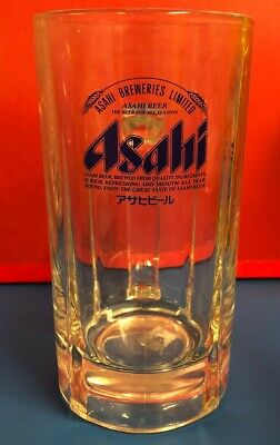 NEW Lot of 2 Japanese Brewery Asahi SUPER DRY Beer Mugs Collectible 16 Oz