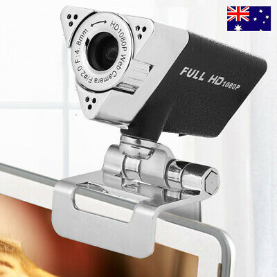 HD 1080P USB 12.0 Mega Pixel Camera Webcam Web Cam With Built-in Microphone MIC