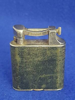 1930s Silver Dunhill Lift Arm Petrol Lighter Patent 390107 First Class Condition