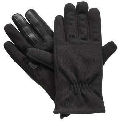 isotoner Active Smart Touch Womens Black SmarTouch Tech Stretch Gloves XS/Small