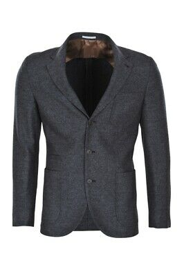 Brunello Cucinelli Blazer Men's 50 SALE !! Dark grey Slim Twill Wool