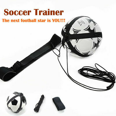 Football Self Training Kick Practice Trainer Aid Equipment Waist Belt Returner