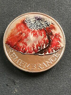 2018 Remembrance Day £5 Pound Coin.